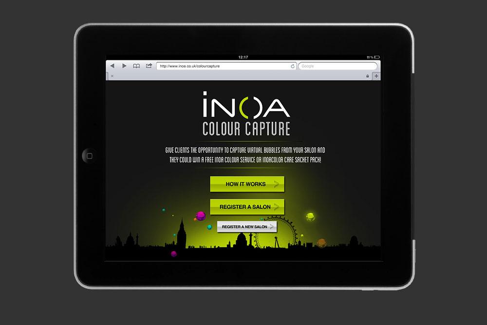 inoa colour capture mobile app marty busch - Inoa Color Care